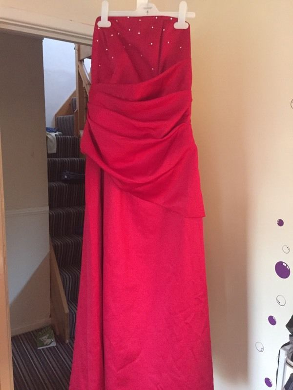 Bridesmaid dresses Forever Yours x5 sizes 8-26 Red