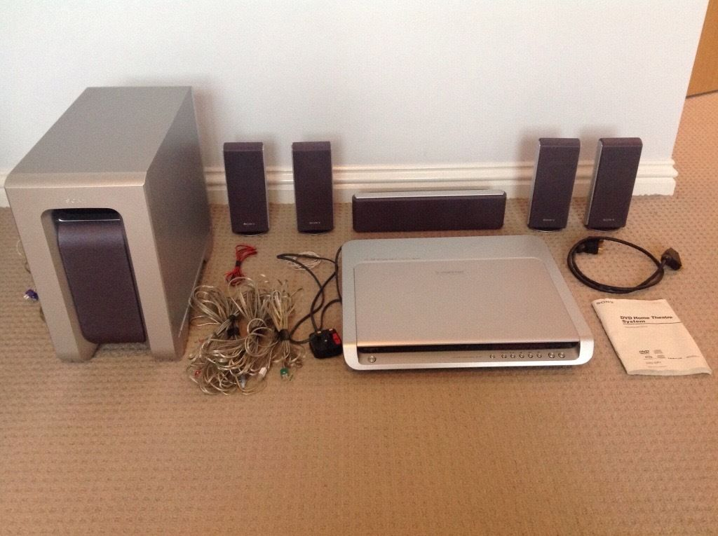 Sony home cinema system for sale.