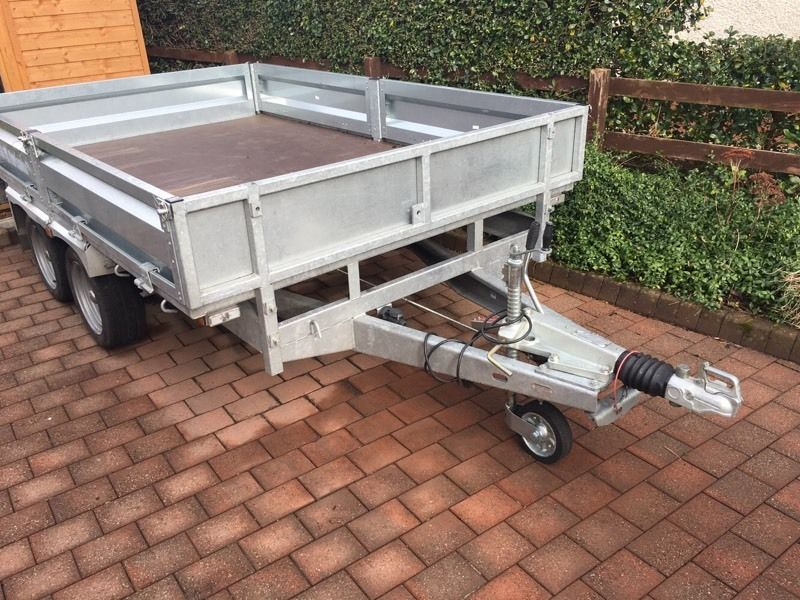 Indespension trailer flat bed