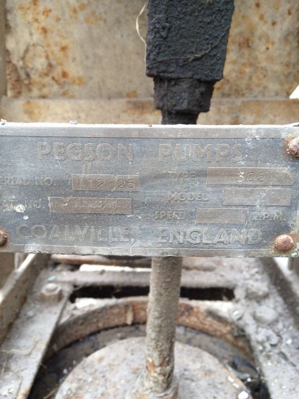 Vintage Engine Villiers and Pegson pump