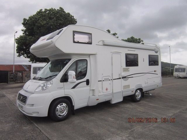 2008 2.8 CI CARIOCA 764 6 BERTH MOTORHOME WITH U SHAPED LOUNGE ANDERSON CARAVAN AND MOTORHOME SALES