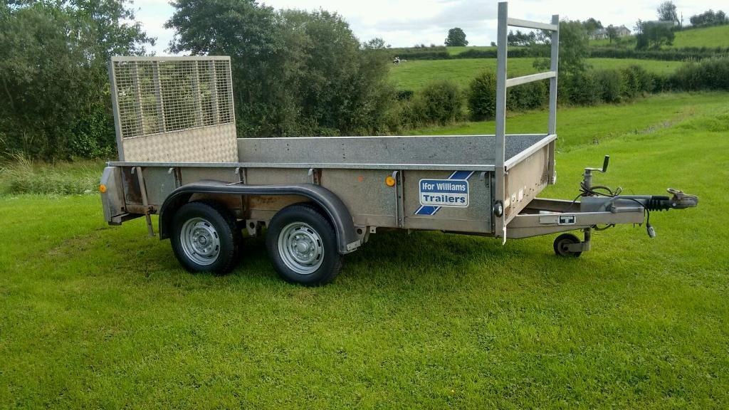 Ifor Williams trailer 10x5 recent brakes/tyres