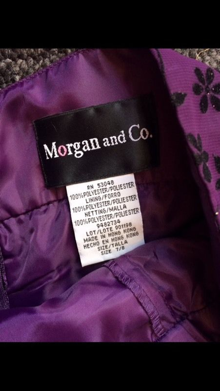 Morgan fishtail dress size 6/7