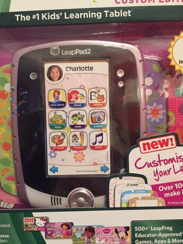 Brand New, Still in the Sealed Box - Leappad 2 Custom Edition in Pink
