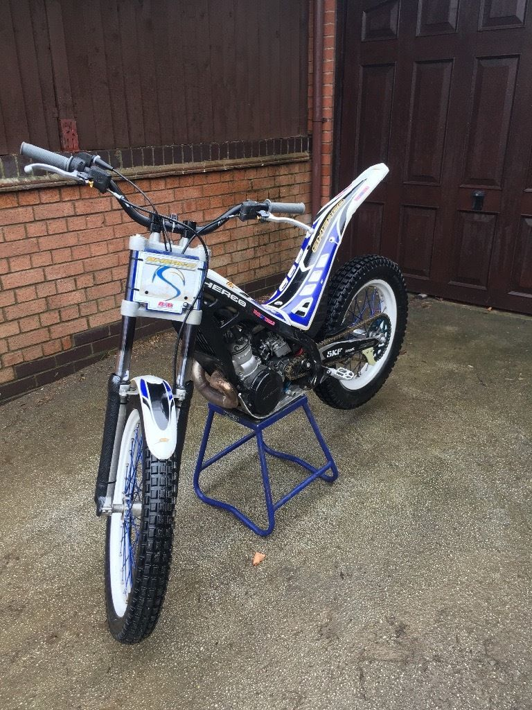 Sherco 290 2006 trials bike