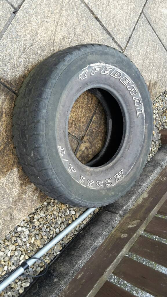 Old 4x4 tyre free