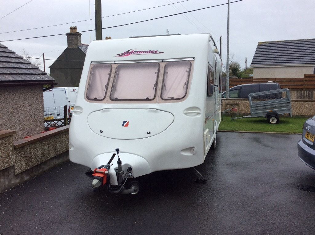 Fleetwood Colchester 4 berth 2003