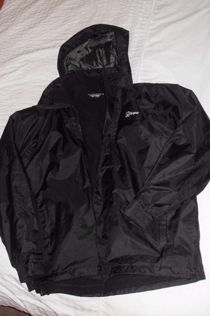 Hi Gear Hiking/Walking Jacket with detachable Fleece Lining - Size S.