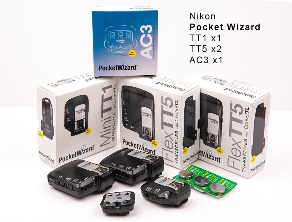 Pocket wizard complete set for Nikon
