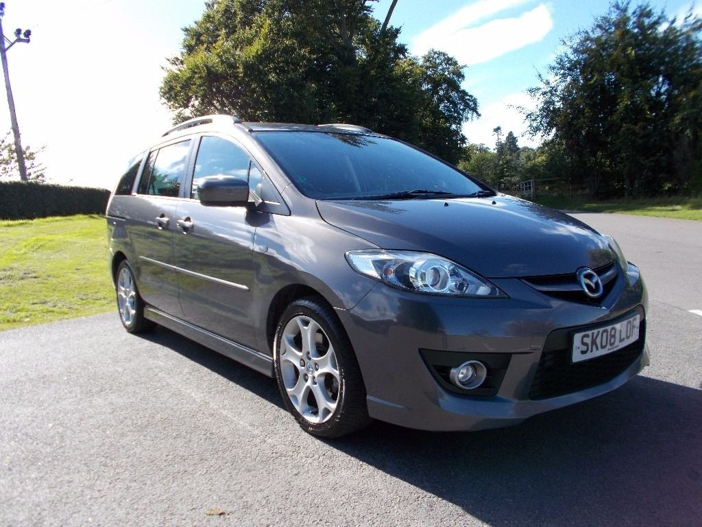 2008 08 MAZDA 5 SPORT 7 SEATER MPV MOT SEPTEMBER 2017