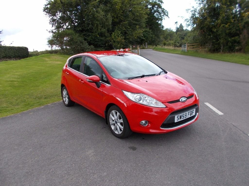 2010 59 FORD FIESTA 1.4 ZETEC 5 DOOR MOT SEPTEMBER 2017