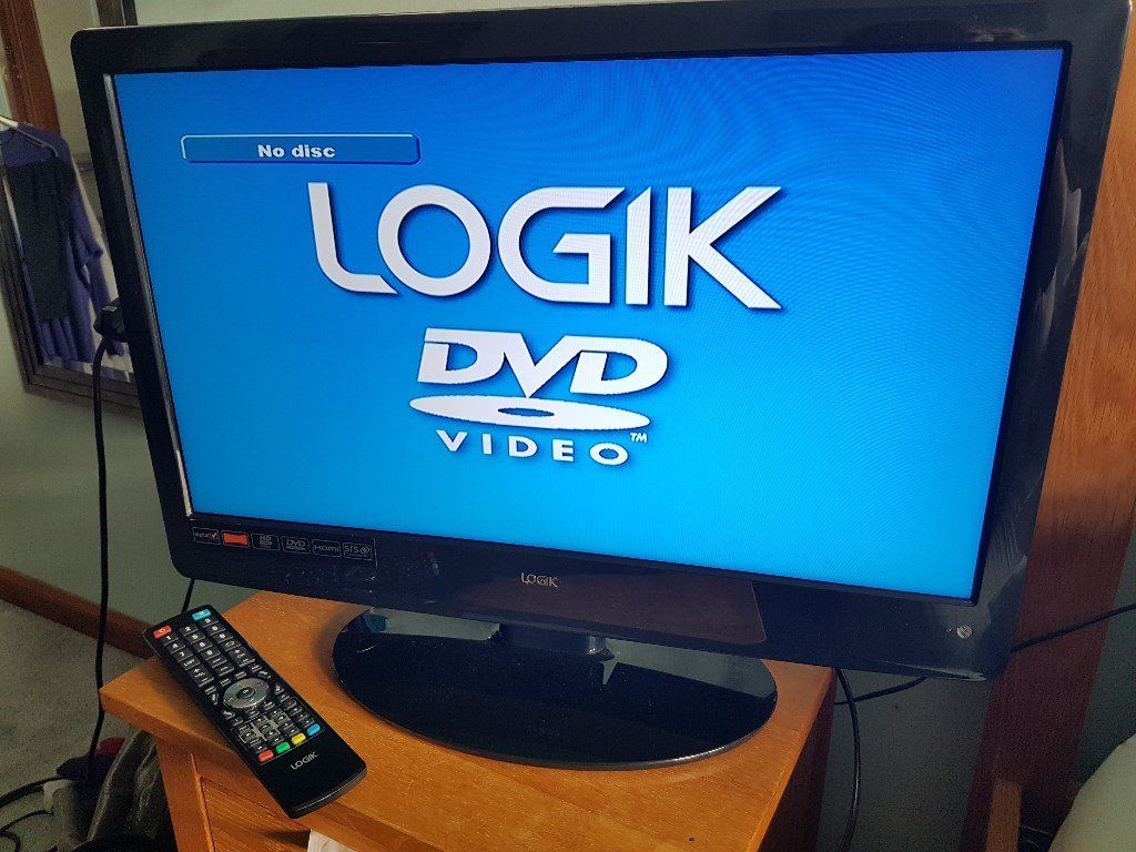 "24"" Logik TV/DVD Combi For Sale"