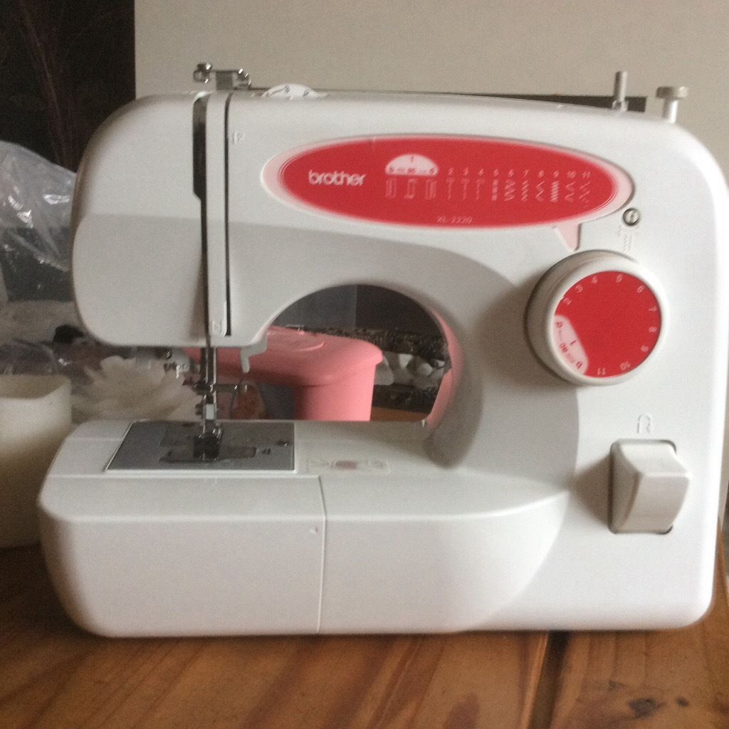 Brother electric white sewing machine