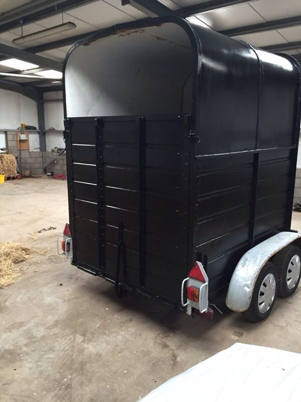 Twin axle horse box . May suit MotoX ?