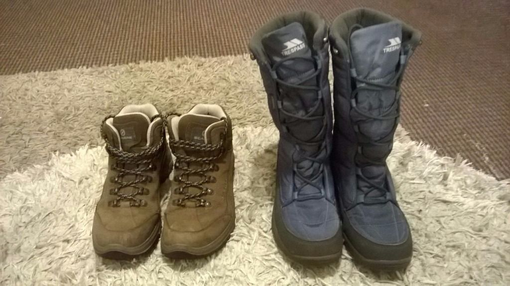 Hiking Boots & Snow Boots