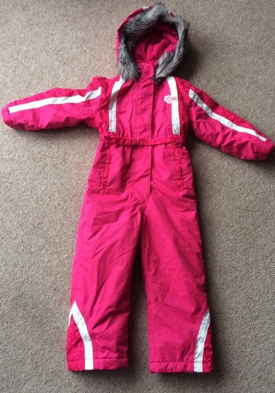 SNOWSUIT AGED 4-5years