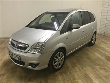 Vauxhall MERIVA ACTIVE PLUS-Finance Available to People on Benefits and Poor Credit Histories-