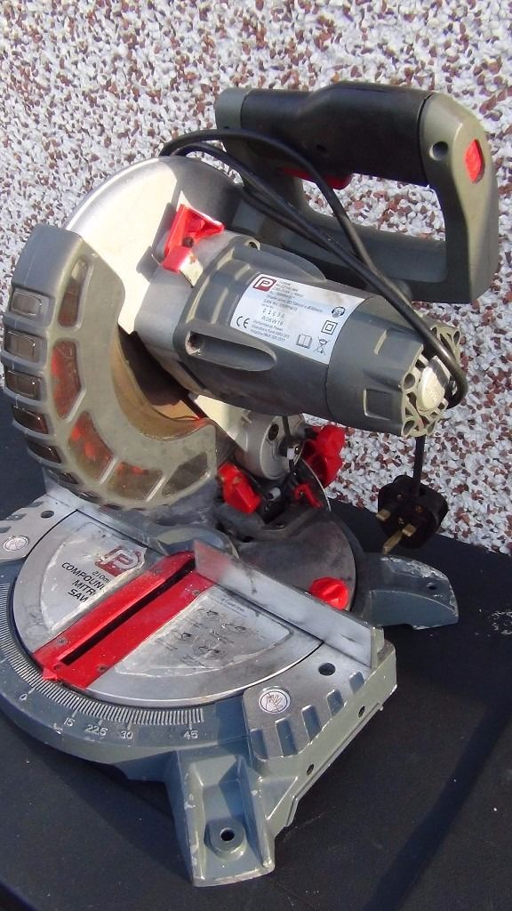 Compound mitre saw 210 mm ,1400 watt with laser