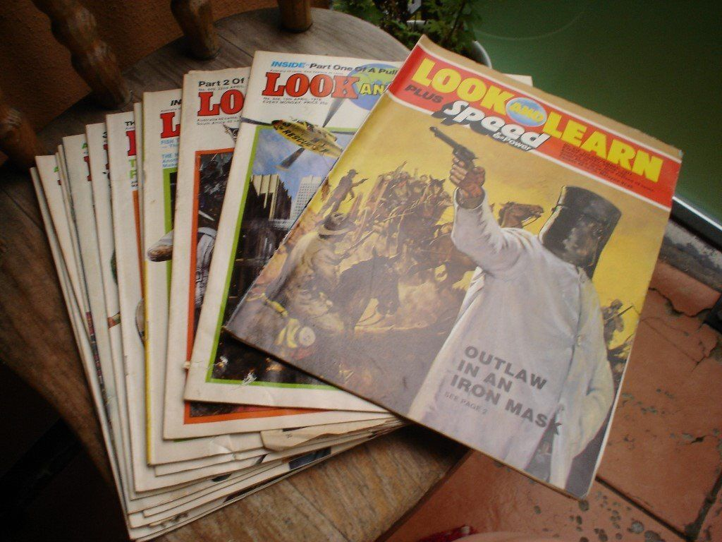 15 Look & Learn Magazines