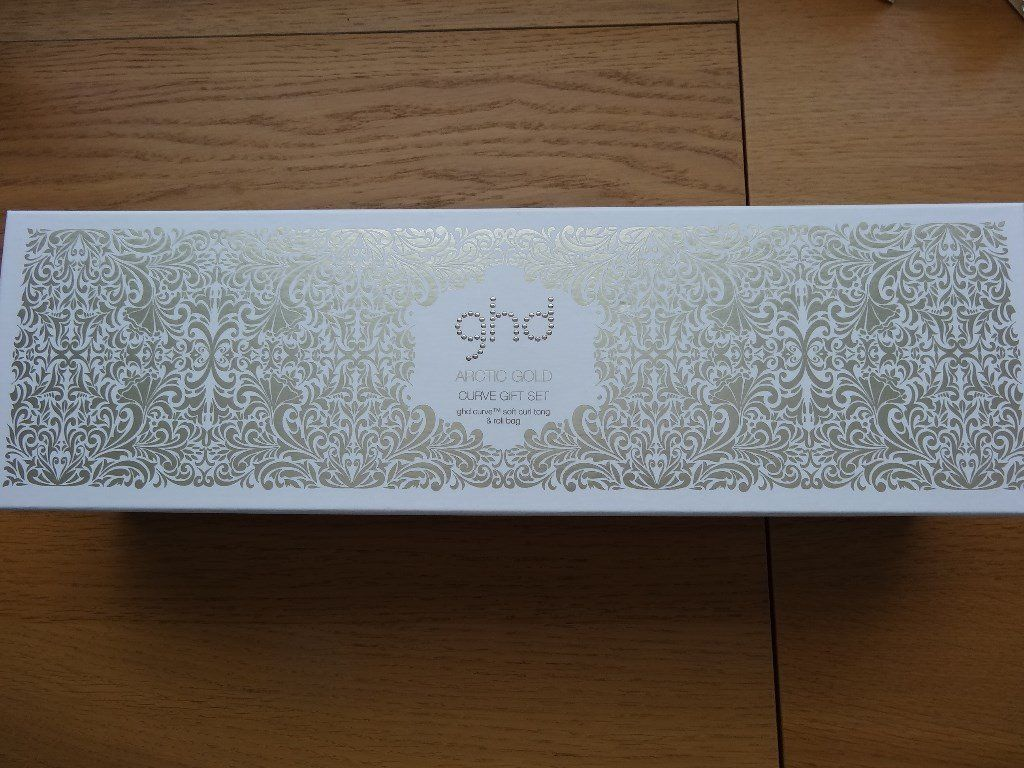 new ghd Arctic Gold Limited edition Curve Gift Set - curling tongs