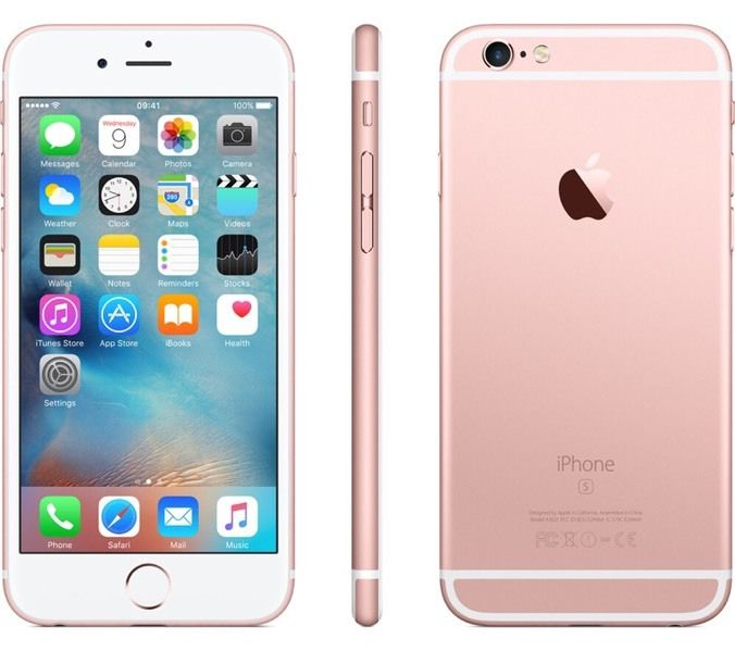 Like new iPhone 6s rose gold 16gb