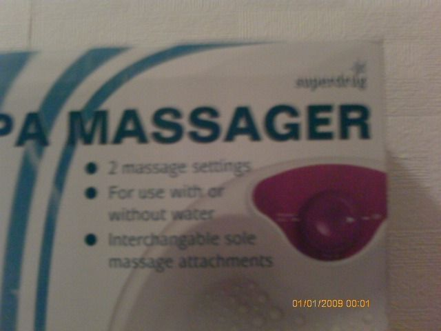 Foot Spa Massager from Superdrug
