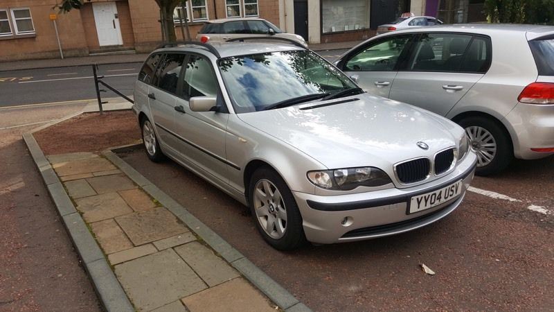 BMW 3.18i se touring swap for another smaller car