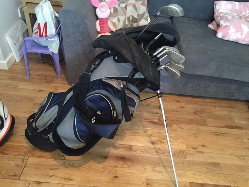 Golf Clubs inc stand bag