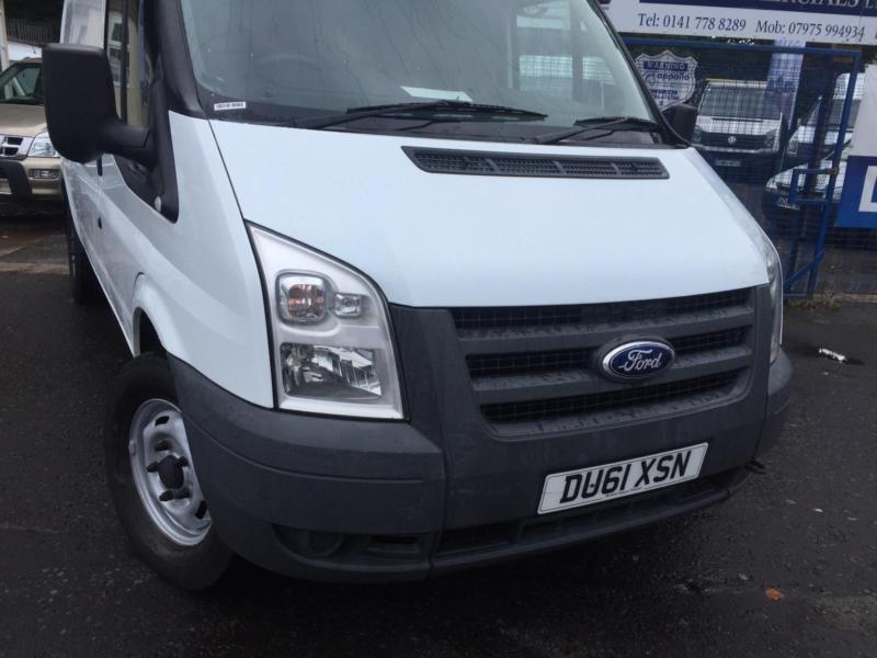 Ford Transit medium wheel base t350 one owner no vat