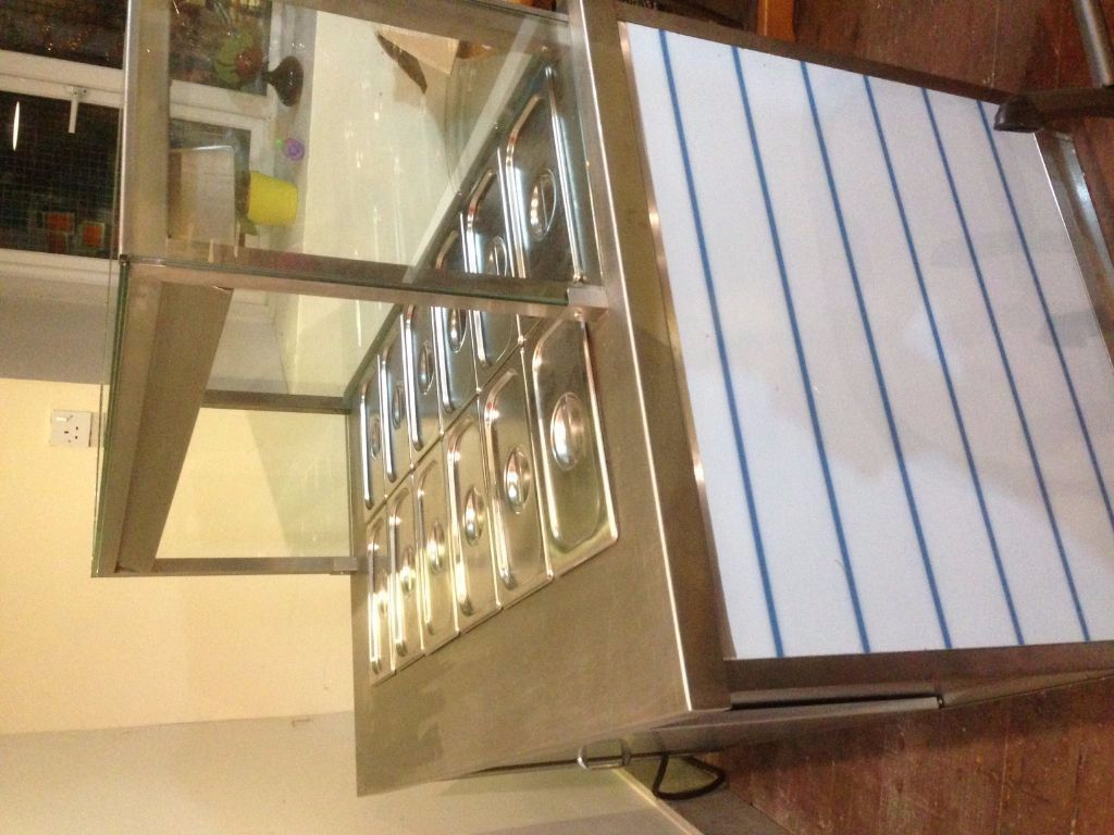 New Hot Food Bain Marie Display.