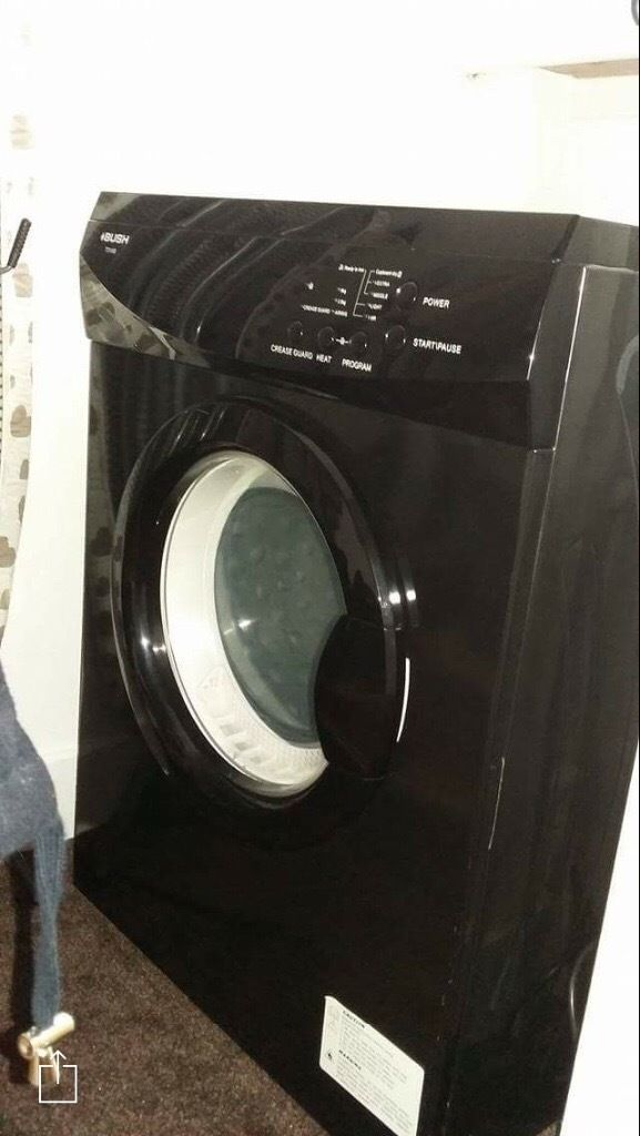 6kg Vented Bush Black tumble dryer for sale. Hardly used. L