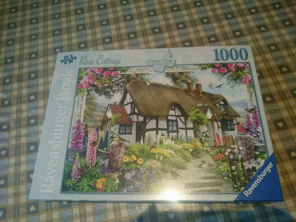 Ravensburger Jigsaw 'Rose Cottage ' NEW IN BOX
