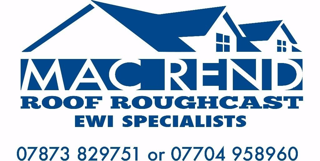 Mac Rend Roughcast/Roofing/External wall insulation specialists,Can beat any price guaranteed