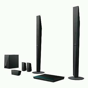Sony surround sound and smart blu-ray player