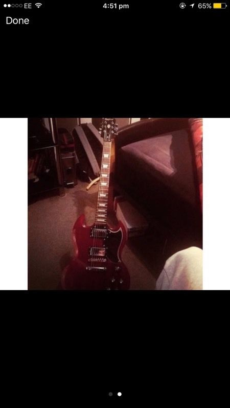 Looking to swap my epiphone sg for a telecaster