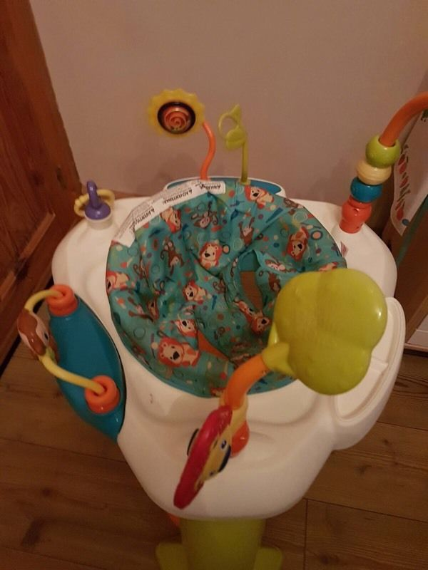 Bright start baby activity centre