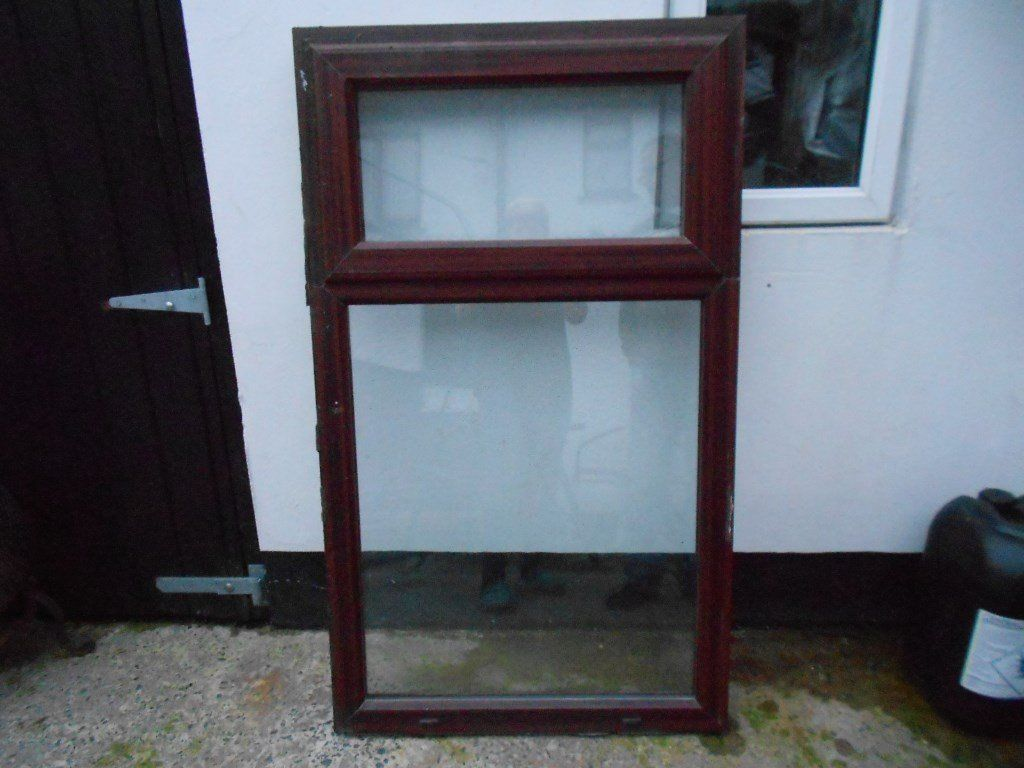 MAHOGANY PVC WINDOW