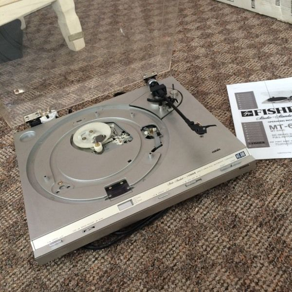 Fisher record player