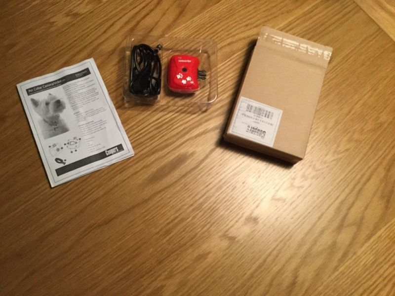 Pet collar cameras (suitable for dogs or cats) - brand new and never used
