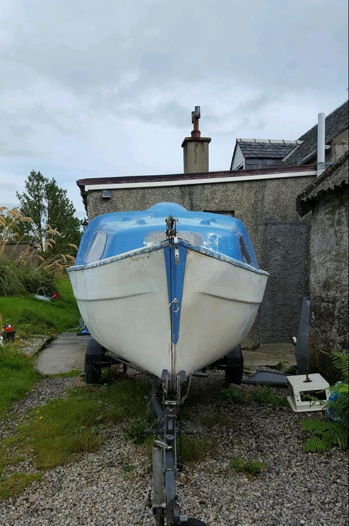 UNFINISHED PROJECT 17ft boat