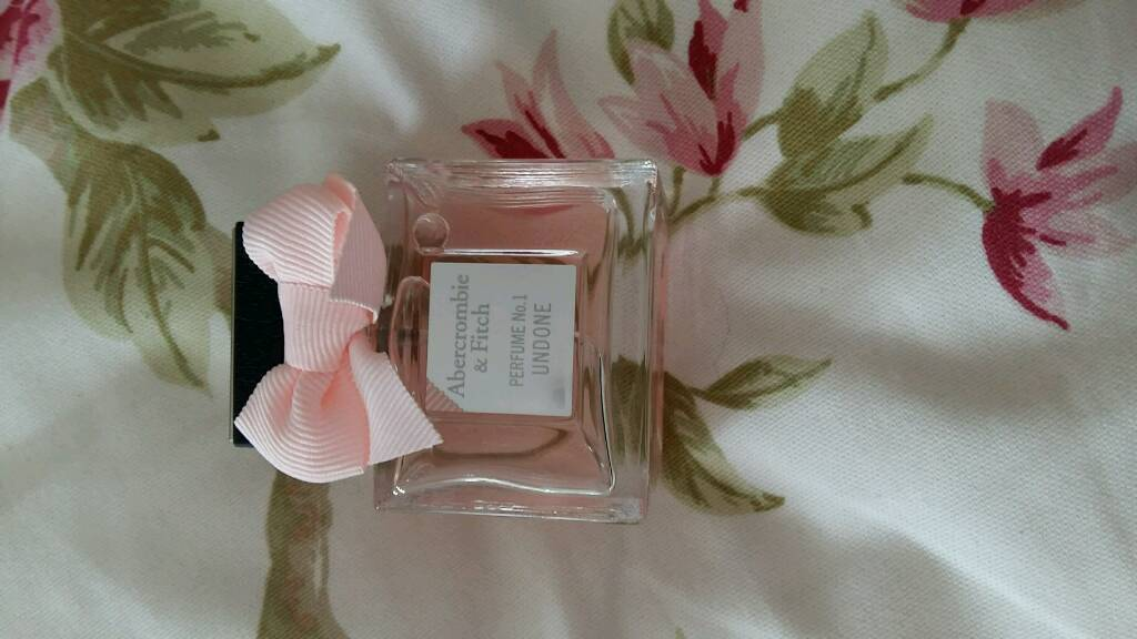 Genuine Abercrombie and fitch perfume no 1 undone