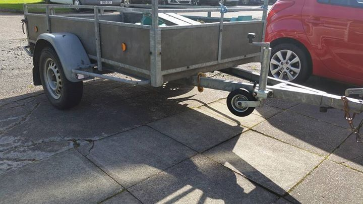 Galvanised 7ft x 4ft trailer