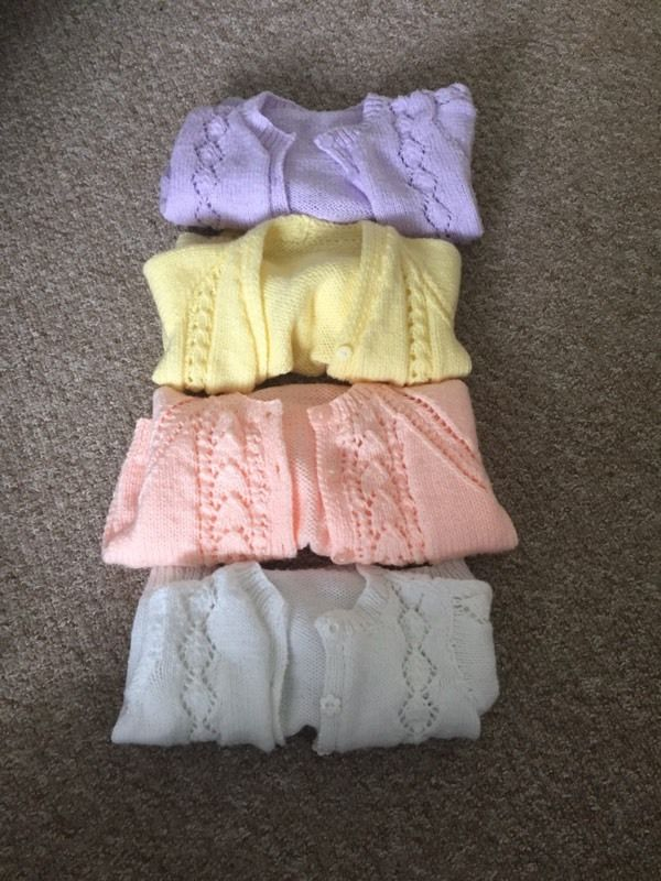 Knitted cardigan bundle