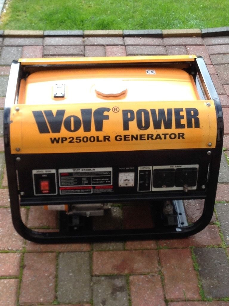 Heavy duty generater great condition