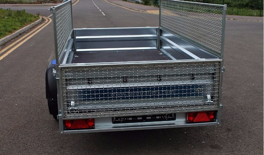 Hot sale car Trailer 7.74 x 4.10 FT + mesh