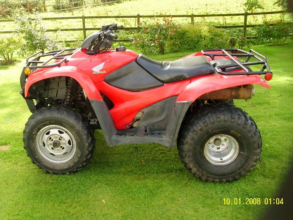 Honda quad TRX420 TM 2008 NO VAT