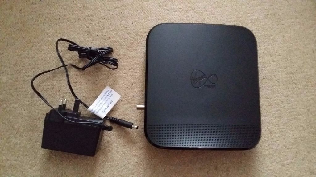Virgin SuperHub 2ac with mains adaptor. No offers please.