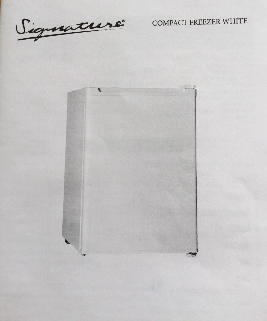 Small Table Top Freezer