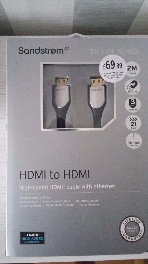 Brand New High Speed HDMI to HDMI cable