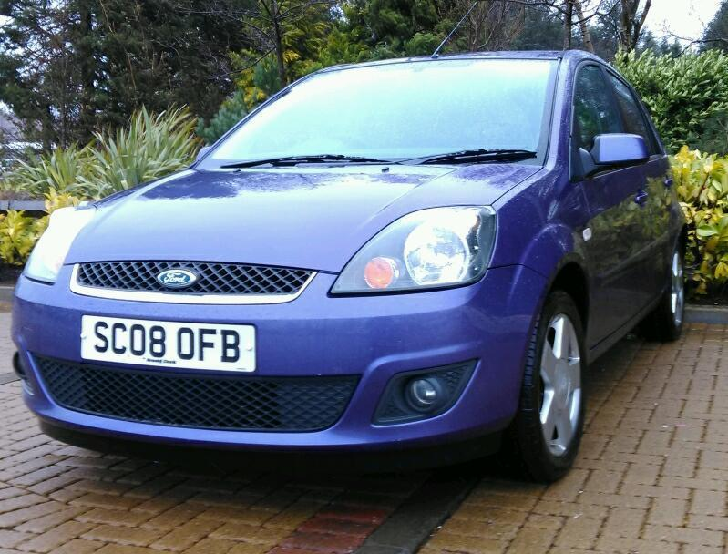 2008 Fiesta Zetec Climate Bluetooth **Full Service History** Reliable 1.4 Size of corsa polo 5 door